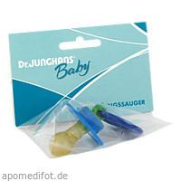 Beruhigungssauger kirschform Latex 0-6Monate bunt, 1 ST, Dr. Junghans Medical GmbH
