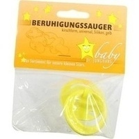 Beruhigungssauger kirschf Sili universal gelb, 1 ST, Dr. Junghans Medical GmbH