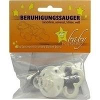 Beruhigungssauger kirschf Sili universal weiss, 1 ST, Dr. Junghans Medical GmbH
