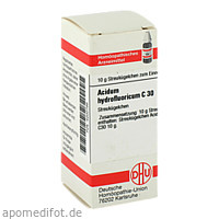 ACIDUM HYDROFLUOR C30, 10 G, Dhu-Arzneimittel GmbH & Co. KG