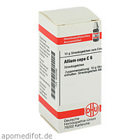 ALLIUM CEPA C 6, 10 G, Dhu-Arzneimittel GmbH & Co. KG