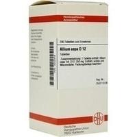 ALLIUM CEPA D12, 200 ST, Dhu-Arzneimittel GmbH & Co. KG