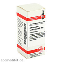 AMMONIUM CARB C200, 10 G, Dhu-Arzneimittel GmbH & Co. KG