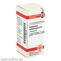 AMMONIUM CARB D12, 10 G, Dhu-Arzneimittel GmbH & Co. KG