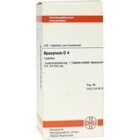 APOCYNUM D 4, 200 ST, Dhu-Arzneimittel GmbH & Co. KG
