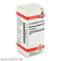 ARSENICUM ALB C12, 10 G, Dhu-Arzneimittel GmbH & Co. KG