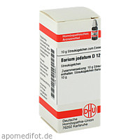 BARIUM JODAT D12, 10 G, Dhu-Arzneimittel GmbH & Co. KG