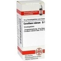 CORALLIUM RUBR D10, 10 G, Dhu-Arzneimittel GmbH & Co. KG