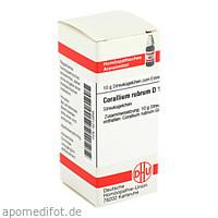 CORALLIUM RUBR D12, 10 G, Dhu-Arzneimittel GmbH & Co. KG