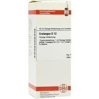 CRATAEGUS D12, 50 ML, Dhu-Arzneimittel GmbH & Co. KG