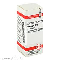 CRATAEGUS D12, 10 G, Dhu-Arzneimittel GmbH & Co. KG
