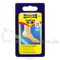 Pflaster-Gel-aktives Gelpflaster, 5 ST, Health Care Products Vertriebs GmbH