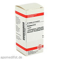 DROSERA D12, 80 ST, Dhu-Arzneimittel GmbH & Co. KG