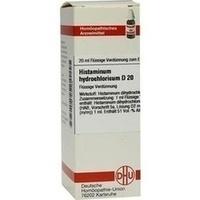 HISTAMINUM HYDROCHLOR D20, 20 ML, Dhu-Arzneimittel GmbH & Co. KG
