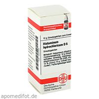 HISTAMINUM HYDROCHLOR D 6, 10 G, Dhu-Arzneimittel GmbH & Co. KG