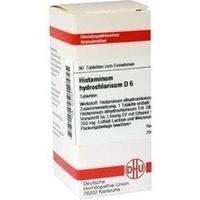 HISTAMINUM HYDROCHLOR D 6, 80 ST, Dhu-Arzneimittel GmbH & Co. KG