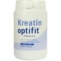 Kreatin optifit Maracuja, 250 G, Köhler Pharma GmbH