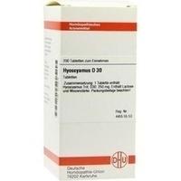 HYOSCYAMUS D30, 200 ST, Dhu-Arzneimittel GmbH & Co. KG