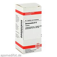 IPECACUANHA D12, 80 ST, Dhu-Arzneimittel GmbH & Co. KG