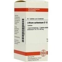 LITHIUM CARB D12, 80 ST, Dhu-Arzneimittel GmbH & Co. KG
