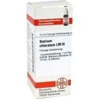 LM NATR CHLORATUM III, 10 ML, Dhu-Arzneimittel GmbH & Co. KG