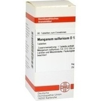MANGANUM SULF D12, 80 ST, Dhu-Arzneimittel GmbH & Co. KG