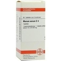 MARUM VERUM D 4, 80 ST, Dhu-Arzneimittel GmbH & Co. KG