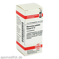 MERCURIUS JODAT FLAV D12, 10 G, Dhu-Arzneimittel GmbH & Co. KG