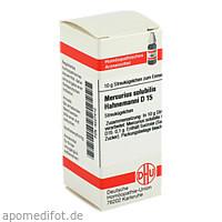 MERCURIUS SOLUB HAHNEM D15, 10 G, Dhu-Arzneimittel GmbH & Co. KG
