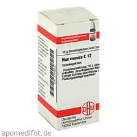 NUX VOMICA C12, 10 G, Dhu-Arzneimittel GmbH & Co. KG