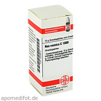 NUX VOMICA C1000, 10 G, Dhu-Arzneimittel GmbH & Co. KG