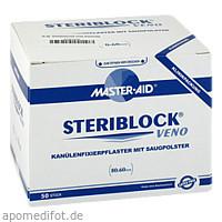 STERIBLOCK Veno Kanuelenfixierpflaster Master Aid, 50 ST, Trusetal Verbandstoffwerk GmbH