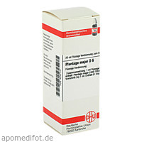 PLANTAGO MAJOR D 6, 20 ML, Dhu-Arzneimittel GmbH & Co. KG