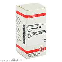 PLANTAGO MAJOR D 2, 80 ST, Dhu-Arzneimittel GmbH & Co. KG