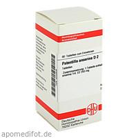 POTENTILLA ANSER D 2, 80 ST, Dhu-Arzneimittel GmbH & Co. KG