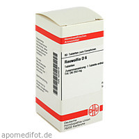 RAUWOLFIA D 6, 80 ST, Dhu-Arzneimittel GmbH & Co. KG