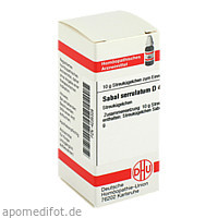 SABAL SERRUL D 4, 10 G, Dhu-Arzneimittel GmbH & Co. KG
