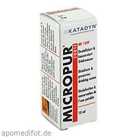 Micropur Forte MF 100F, 10 ML, Katadyn Deutschland GmbH