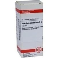 SPARTIUM SCOPARIUM D 6, 80 ST, Dhu-Arzneimittel GmbH & Co. KG