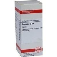 SPONGIA D30, 80 ST, Dhu-Arzneimittel GmbH & Co. KG
