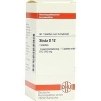 STICTA D12, 80 ST, Dhu-Arzneimittel GmbH & Co. KG
