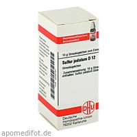 SULFUR JODAT D12, 10 G, Dhu-Arzneimittel GmbH & Co. KG