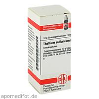 THALLIUM SULF D12, 10 G, Dhu-Arzneimittel GmbH & Co. KG
