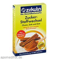 Zirkulin Zuckerstoffwechsel Zimt Plus, 60 ST, DISTRICON GmbH
