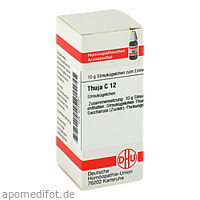 THUJA C12, 10 G, Dhu-Arzneimittel GmbH & Co. KG