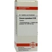 ZINCUM CYANATUM D30, 80 ST, Dhu-Arzneimittel GmbH & Co. KG