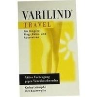 VARILIND TRAVEL Knie Baumwolle schwarz XS, 2 ST, OTG Handels GmbH