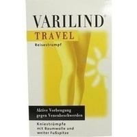 VARILIND TRAVEL Knie Baumwolle schwarz L, 2 ST, OTG Handels GmbH