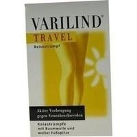 VARILIND TRAVEL Knie Baumwolle beige XS, 2 ST, OTG Handels GmbH