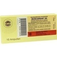 MUSCARSAN D 6 Flüssige Verdünnung zur Injektion, 10X1 ML, Sanum-Kehlbeck GmbH & Co. KG